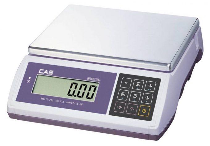 CAS ED 3 - počítacia váha do 3 kg