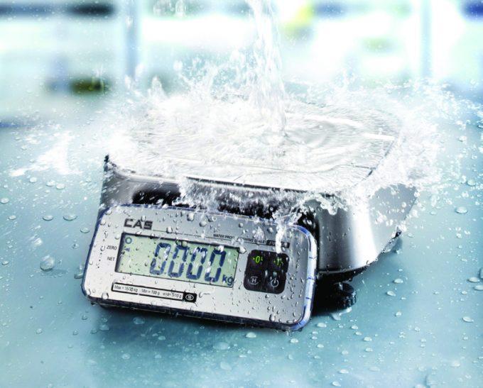 Vodotesná váha CAS FW-500 do 6 kg
