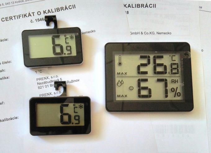HACCP sada kalibrovaných digitálnych teplomerov - 2