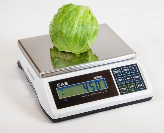 Kontrolná váha CAS ED-H do 6 kg