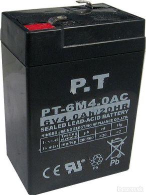 Akumulátor k váham - 6V 4 Ah