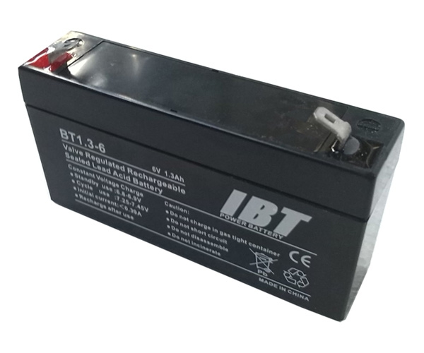 Akumulátor k váham - 6V 1,3 Ah