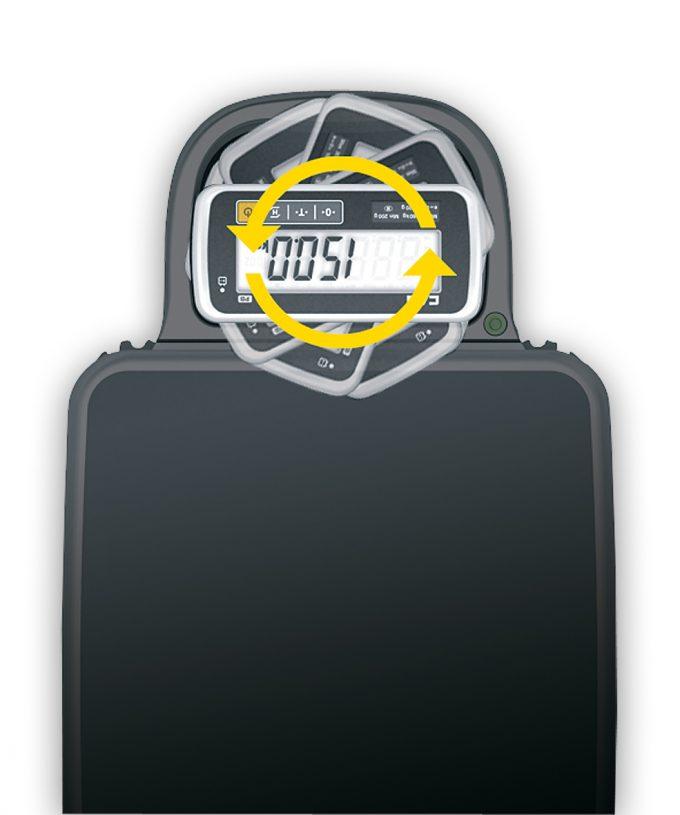 Prenosná váha CAS PB 30 kg