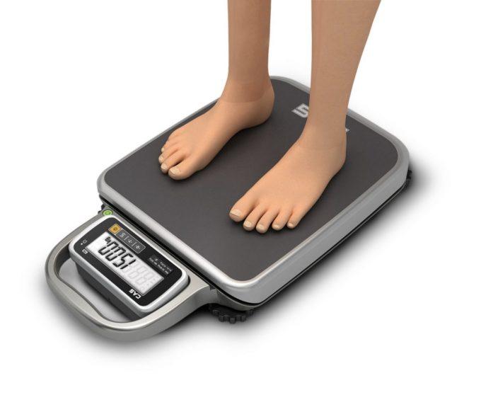 Váha na váženie osôb CAS PB 200