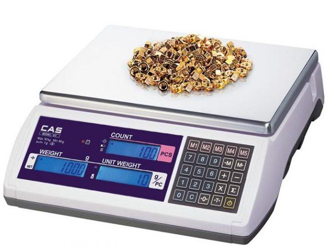 CAS EC počítacia váha do 3 kg