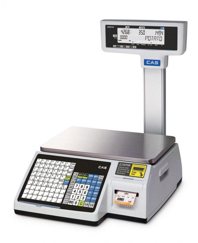 Etiketovacia váha CAS CL-5200 Junior P