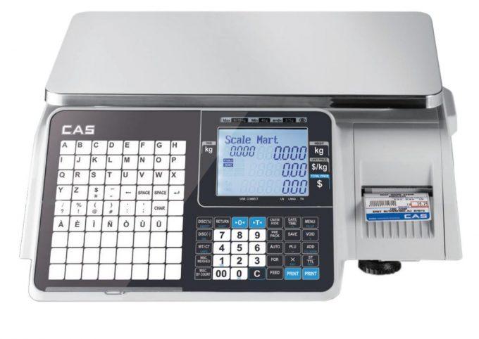 Etiketovacia váha CAS CL 3000 B