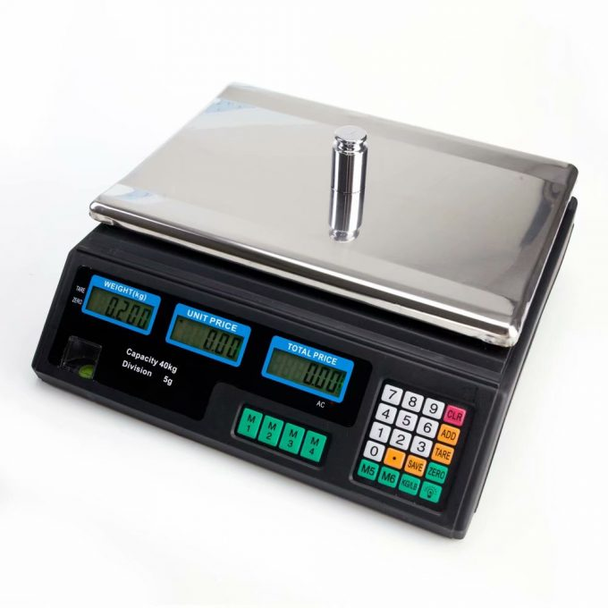 Kontrolná váha s výpočtom ceny ACS do 30 kg