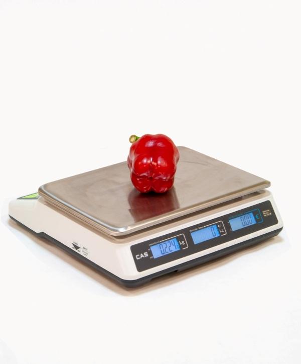 Obchodná váha CAS PR-II B do 15 kg