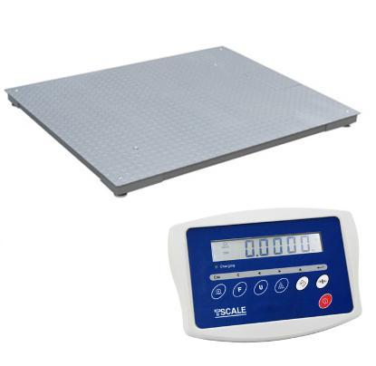Plošinová váha do 600 kg - rozmer 1000 x 1000 mm
