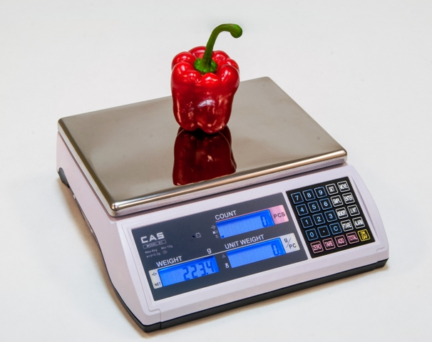 Počítacia kontrolná váha CAS EC-H do 6 kg