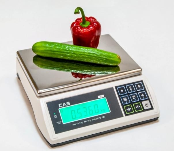 CAS ED 6 - počítacia váha do 6 kg