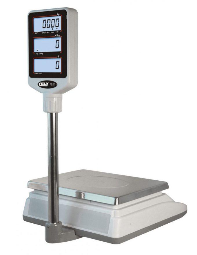 Obchodná váha CELY SPC-T do 15 kg