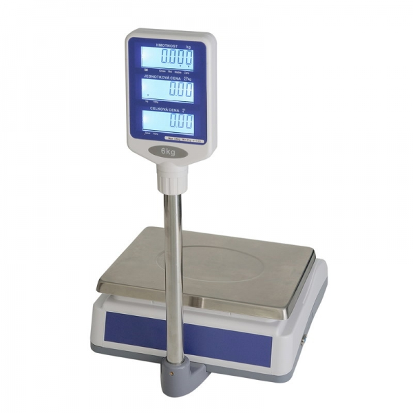 T-Scale QSP-6 do 6 kg - obchodná váha