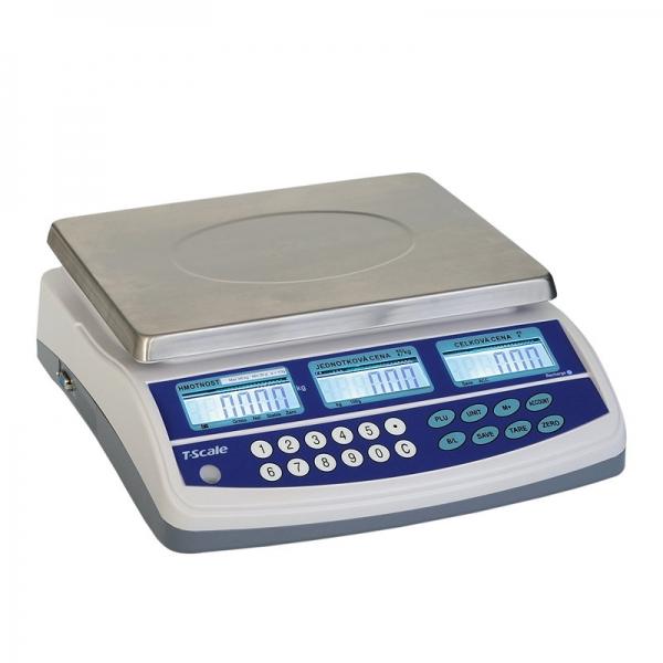 T-Scale QTP-15 do 15 kg - obchodná váha