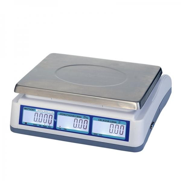 T-Scale QTP-6 do 6kg - obchodná váha