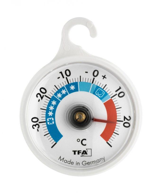 Chladničkový/mrazničkový teplomer bimetalový TFA 14.4005
