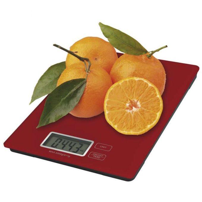Digitálna kuchynská váha TY3101 (červená)