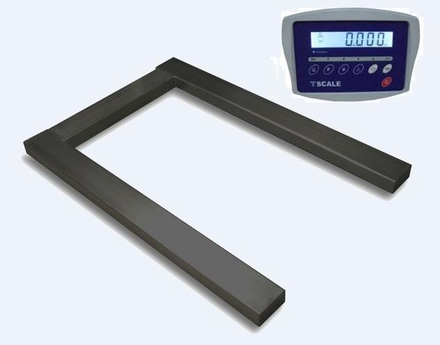 Paletová váha T-scale UKW-1500 s váživosťou do 1500 kg