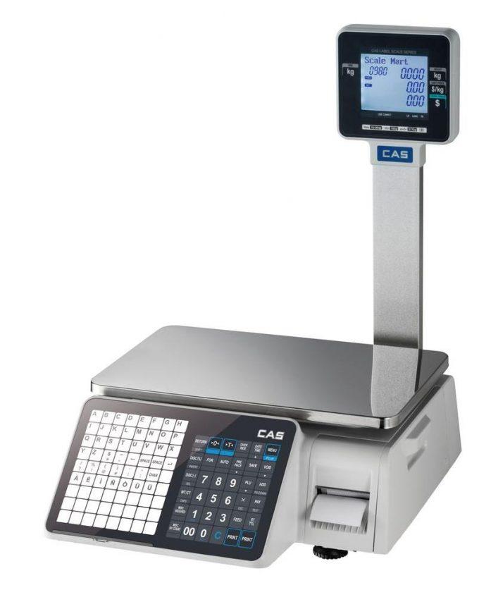 Etiketovacia váha CAS CL 3000 P
