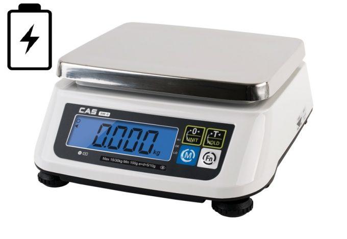 Gastro váha CAS SW-2 do 6 kg (váha na gramy)
