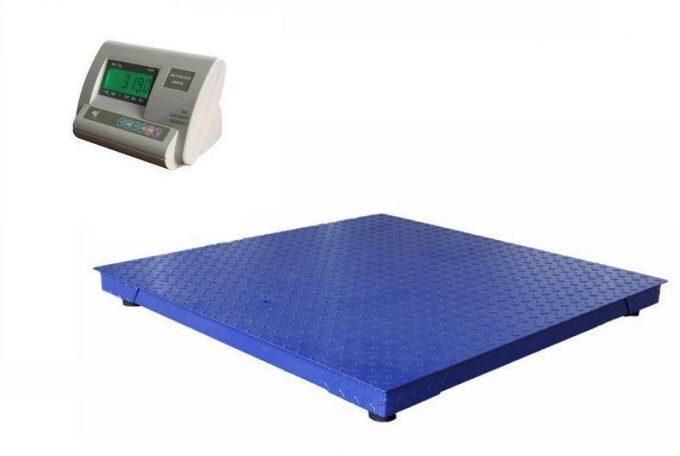 Plošinová kontrolná váha do 1500 kg - rozmer 1200 x 1200 mm