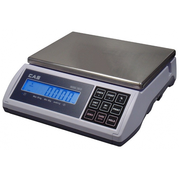 Kontrolná váha CAS ED-H do 30 kg