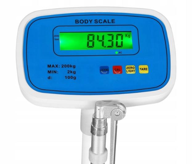Osobná kontrolná váha s výškomerom BS-200