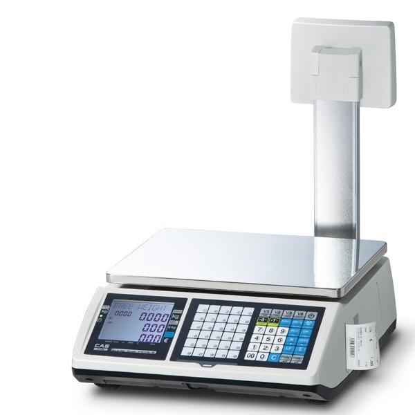 Váhopokladňa CAS CT-100 do 15kg so stĺpikom