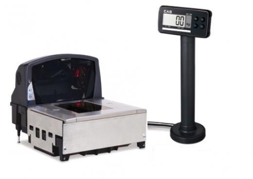 Váhoskener CAS PDS-B do 15 kg + skener Datalogic 8400 USB