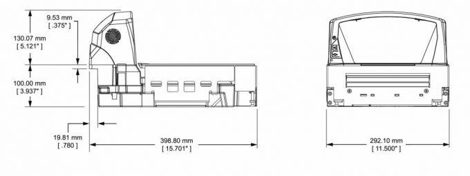 Váhoskener CAS PDS-B do 15 kg + skener Datalogic 8400 SNI