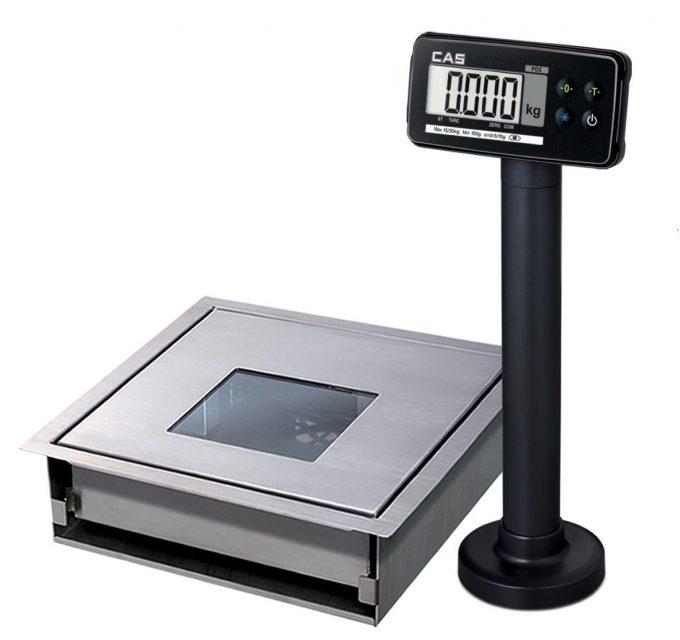 Váhoskener CAS PDS do 15 kg (bez skenera)