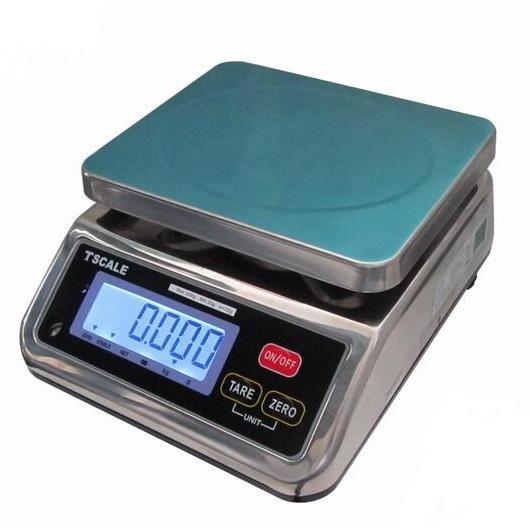 Vodotesná nerezová váha T-scale S29 do 15 kg