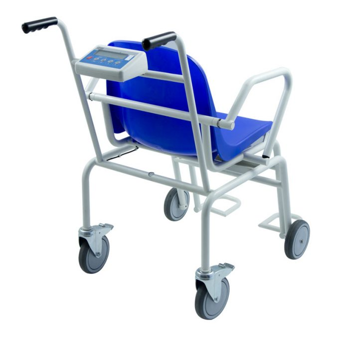 Vozík pre pacientov s váhou Radwag WPT/K 250C