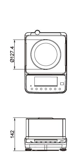 Presná váha CAS XE 3000