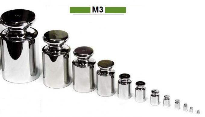 Kalibračné závažia triedy presnosti M3