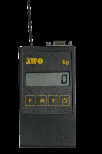 Diaľkové ovládanie s displejom k závesným váham AWO - PT 100R