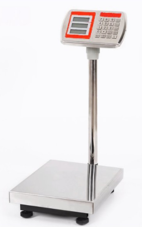 Mostíková kontrolná počítacia váha TCS do 300 kg - 40x50 cm