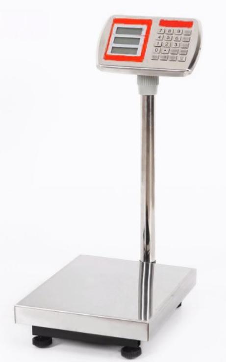 Mostíková kontrolná počítacia váha TCS do 150 kg - 40x50 cm