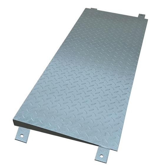 Nájazdová rampa k plošinovej váhe - šírka 1 m