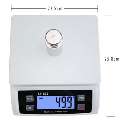 Počítacia váha do 30 kg - Suoifei SF-802