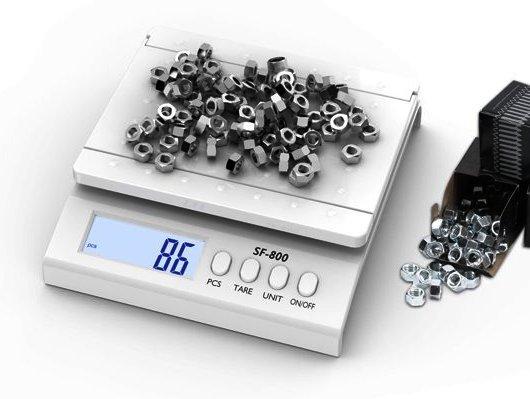 Počítacia kontrolná váha SF 800 do 30 kg